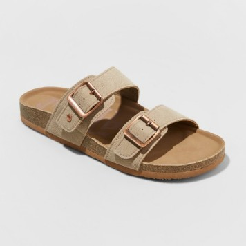 women's mad love keava footbed sandals